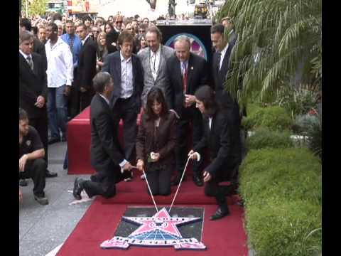 George Harrison Star on the Hollywood Walk of Fame