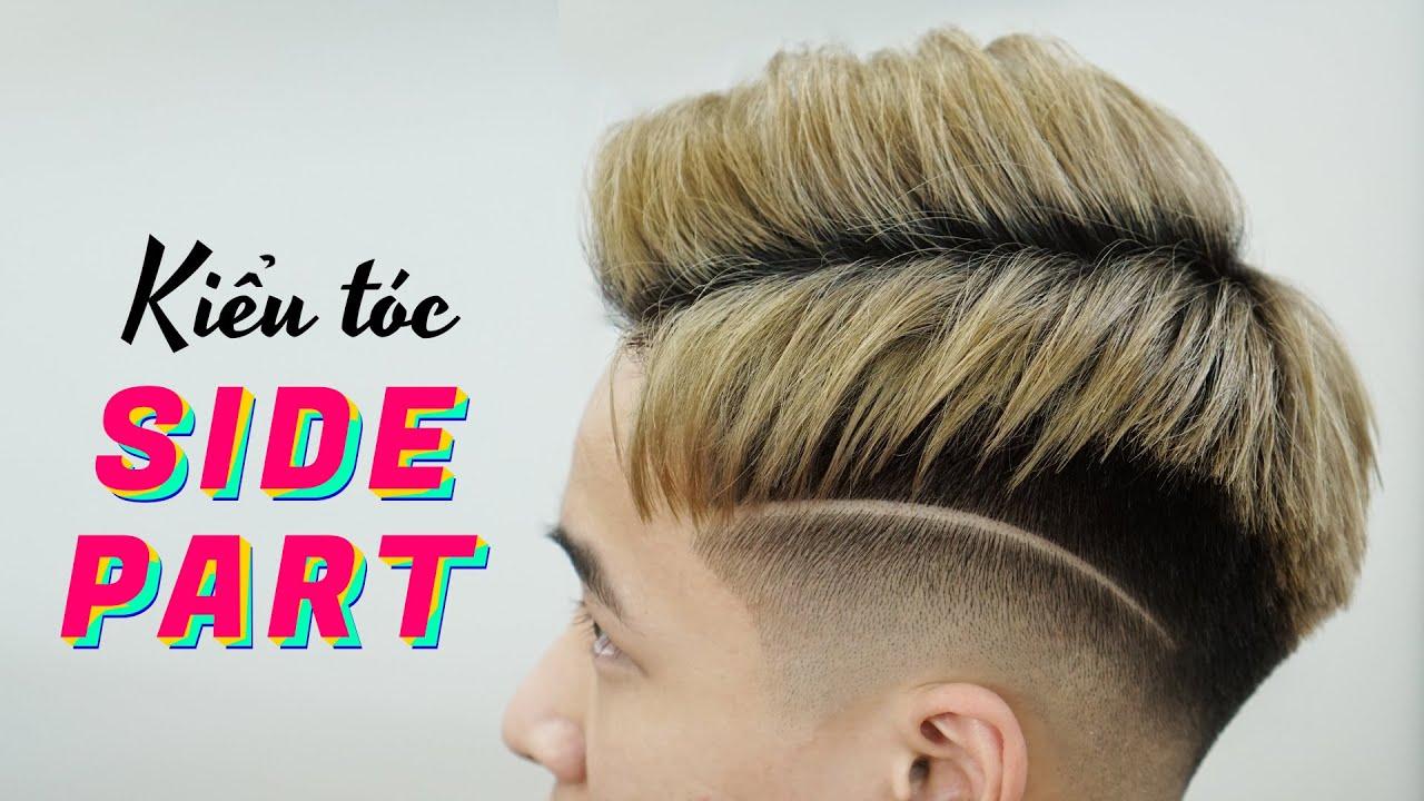 Kiểu tóc SIDE PART mát mẻ nhất cho mùa hè này - Kiểu tóc nam đẹp 2020 - Chính Barber Shop