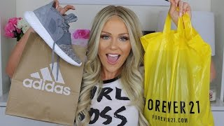 HUGE SUMMER HAUL 2016 | Forever 21, Adidas + more!