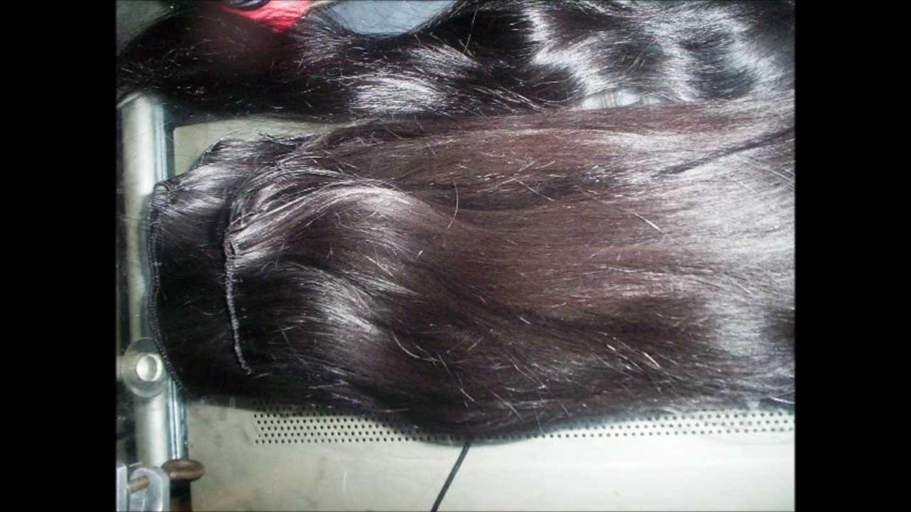 Custom Made Hand Tied Wefts Using Virgin Peruvian Human Hair