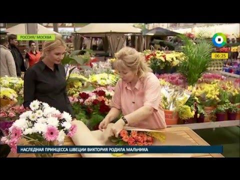 Вышивка лентами маки и полевые цветы фото и видео