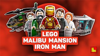 ◉ LEGO Iron Man Malibu Mansion Attack (Железный человек) stop motion build review┃Обзор ЛЕГО 76007