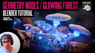 Make A Minature Forest Scene With Geometry Nodes - Blender Tutorial