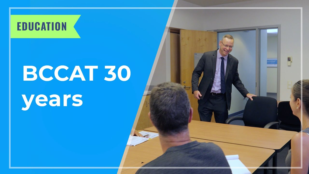 EDUCATION: BCCAT 30 years