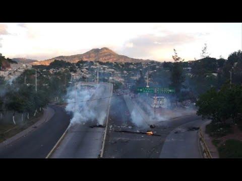 State of emergency in Honduras