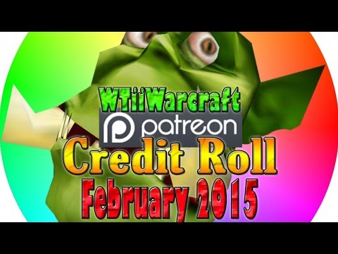 Warcraft 3 - Patron Credit Roll | February 2015