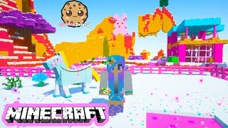 Cookieswirlc Minecraft Game Play Sugar World Animals Baby Elephant Ponies Let's Play Gaming Video