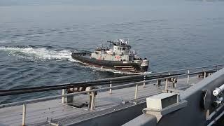 PUGET SOUND (Aug. 11, 2017) Sailors assigned to USS John C. Stennis...