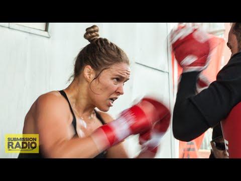 UFC 193: Ronda Rousey open workout (FULL)