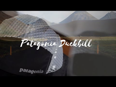 Patagonia duckbill cap. Running hat REVIEW and UNBOXING