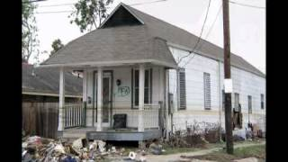 Part 4 New Orleans Before and After Katrina - Gentilly to the Lower 9th Ward