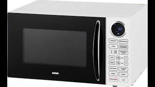 Обзор :Микроволновая печь BBK 23MWG-930S/BW белый\Стоящая покупка уходящего года..