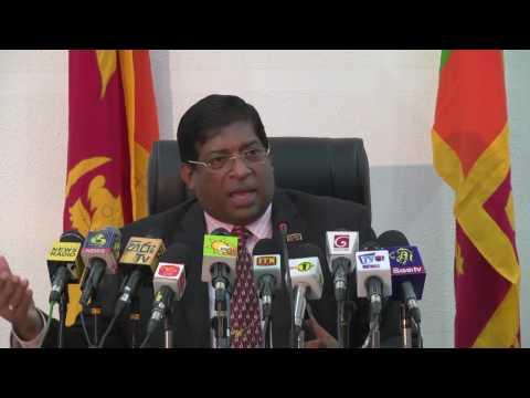 මාධ්ය හමුව 27.04.2017 - Ravi Karunanayake, Minister of Finance