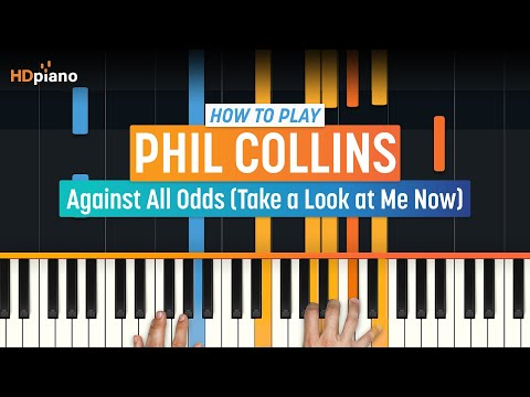 """ALL PARTS FREE - """"Against All Odds (Take a Look at Me Now)"""" by Phil Collins 