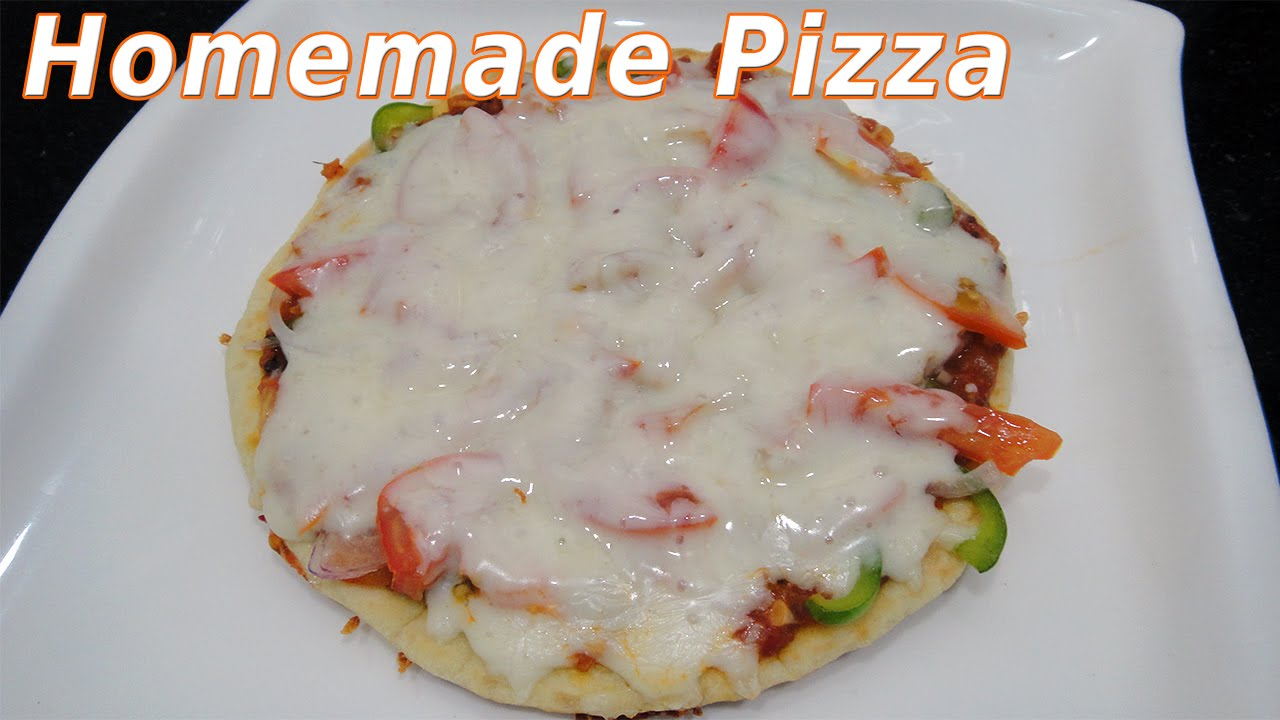 Quick n easy homemade pizza recipe without oventandoor youtube quick n easy homemade pizza recipe without oventandoor forumfinder Images