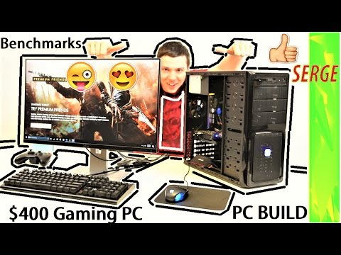 How to Build a Gaming PC $400 - Cheap Budget Gaming Computer