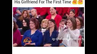 Впервые увидел свою девушку