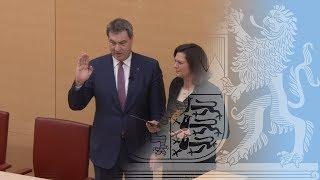 Wahl von Dr. Markus Söder zum Bayerischen Ministerpräsidenten - Bayern
