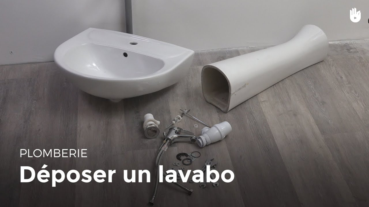 Deposer Un Lavabo Bricolage Youtube