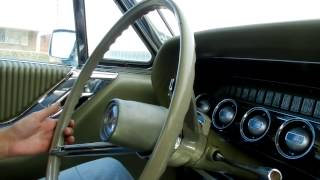 1965 Ford Thunderbird cruise around the block