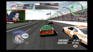 you trip on your shoelaces texas   nascar thunder 2004 career mode race 7 36