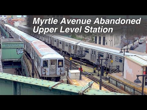 ⁴ᴷ Scenes from the Abandoned Upper Level of Myrtle Avenue Station