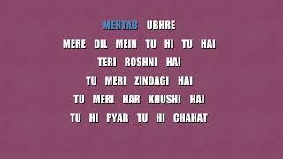 tu meri zindagi hai karaoke with scrolling lyric, tasawur khanam, free download noreen karaoke