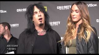 MOTLEY CRUE NIKKI SIXX AND GIRLFRIEND TO BE DUTY-FUL HUSBAND AND WIFE