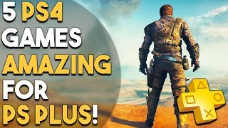 5 PS4 Games That Would Be AMAZING for PS Plus Subscribers
