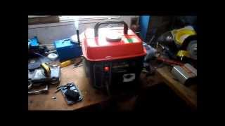 Fixing the 2 stroke chinese made generator