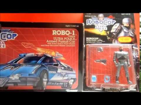 Robocop toys from kenner