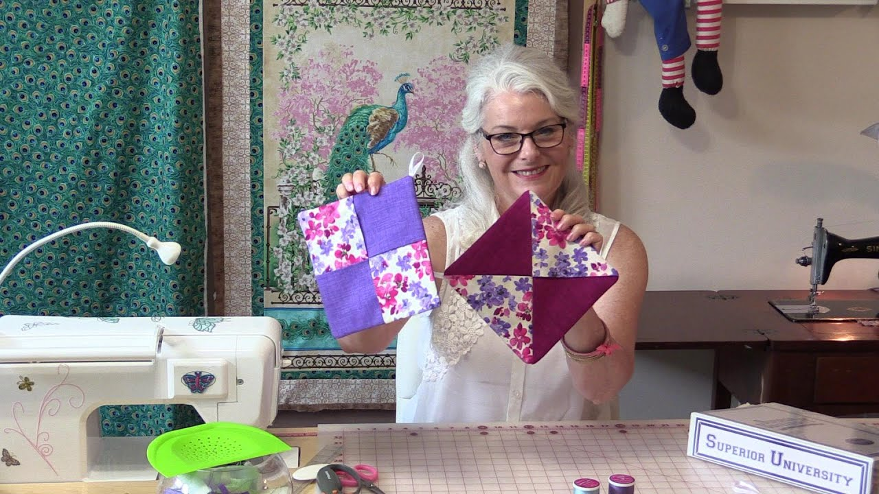Quick, Easy, Cute Hot Pads - YouTube : quilted hot pads - Adamdwight.com
