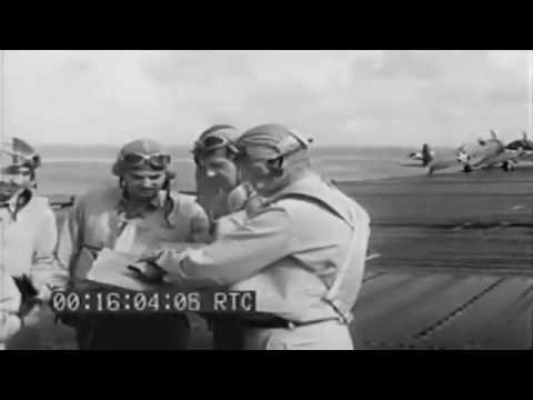 Selected Scenes From Raid On The Gilbert And The Marshall Islands