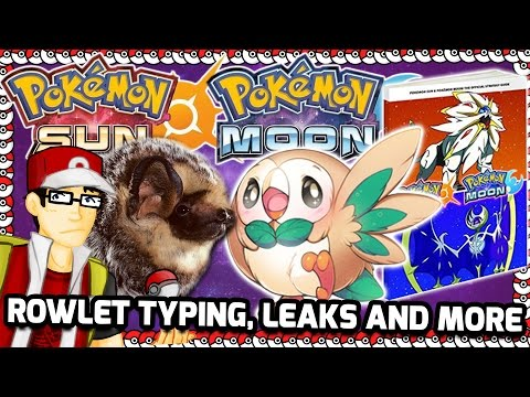 Sun and Moon Rowlet Typing, Hawaiian Animals that Need to be Pokemon and Amazon Leaks!