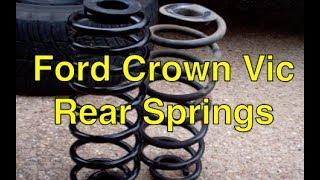 Ford Crown Vic rear springs