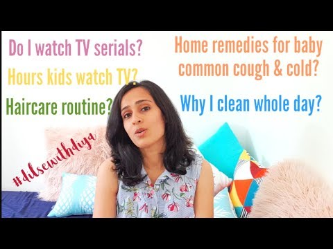 Do I watch TV or just Clean all time? | Q&A | #dilsewithdiya
