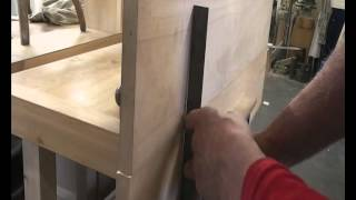 How to edge joint boards - planing, biscuiting and glue up