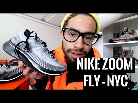 59f9a8917ef NIKE ZOOM FLY SP NYC - UNBOXING   REVIEW - YouTube
