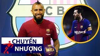 Bản tin chuyển nhượng 6/8 | Vidal đếm từng giờ để được sát cánh bên Messi