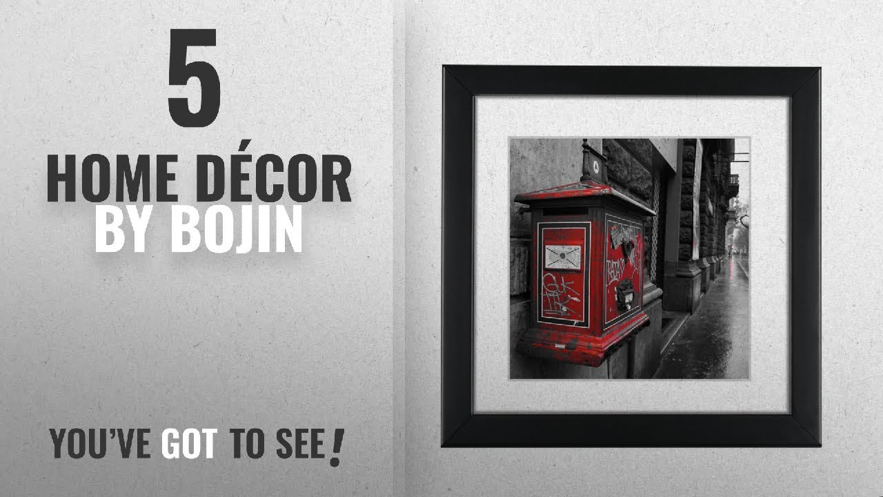 Top 10 Home Décor By Bojin [ Winter 2018 ]: BOJIN Black 8x8 Inch ...