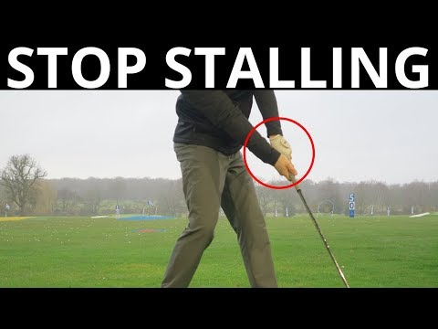 HOW TO STOP STALLING IN YOUR GOLF SWING