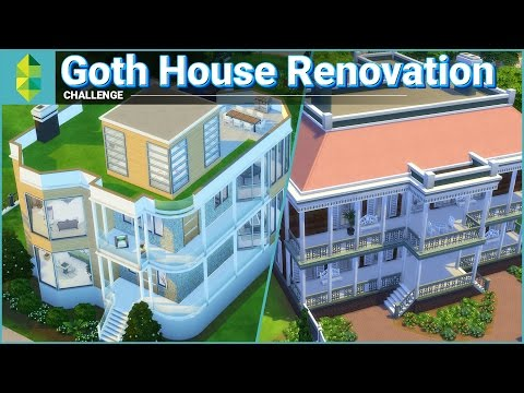 Goth House Renovation - with Emma Blackery (Sims 4)