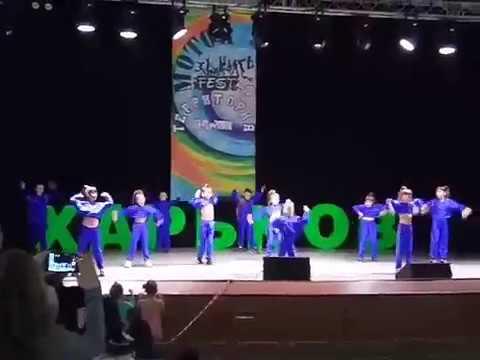 "Dance group ""АЙСИДОРА"" -Хулиганы серебро 1 степени)))) на Motor dance fest"