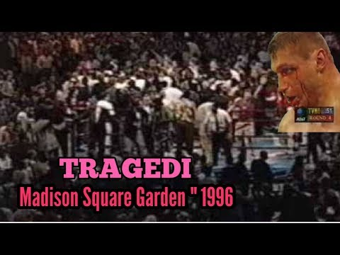 Madison Square Garden Tragedy In 1996