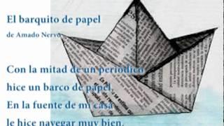El barquito de papel  de Amado Nervo | Coleccion DraBadia.com