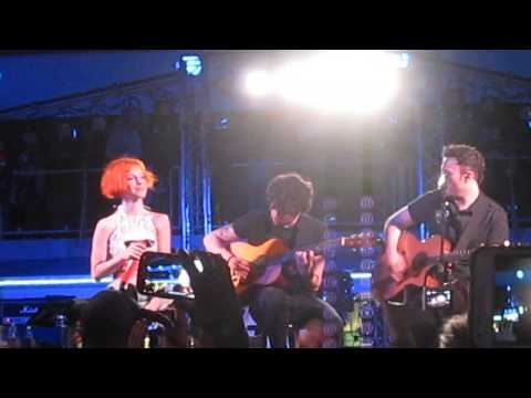 Paramore  Franklin @ The Parahoy Cruise 03092014 Acoustic