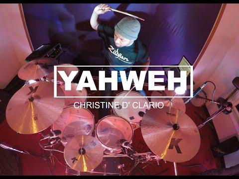 Yahweh Christine D' Clario | Letras | Pista | Drum Cover