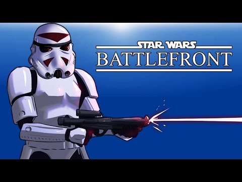 Star Wars Battlefront Beta! (Trying the game out)