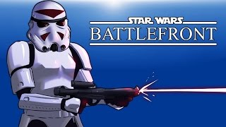 "Star Wars Battlefront Beta! (Trying the game out) ""BEST PLAYER EVER"""