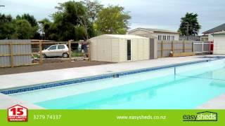 Easy Sheds - Garden Sheds